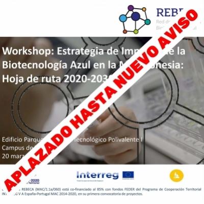 Workshop: Estrategia de Impulso de la Biotecnología Azul en la Macaronesia: Hoja de ruta 2020-2030